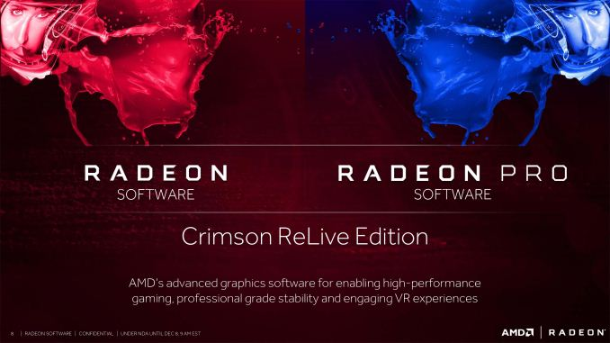 Crimson ReLive: Radeon Pro Drivers - AMD Delivers Crimson
